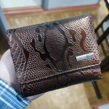 Женский кошелек Butun. Натуральная кожа. Производство Турция