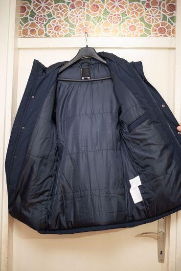 Majica muska nike - Srbija: Muska zimska jakna - teget. Kao nova