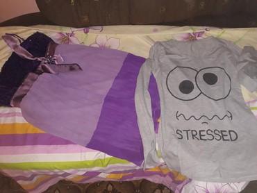Haljine - Zitorađa: Haljina i bluza za 350din odg vel m,L