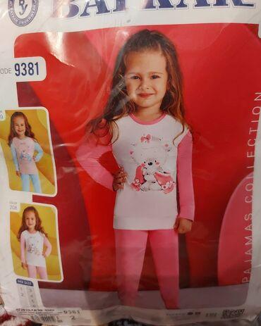 Продаю.Детс пижама для девочек, размер 1-2года, ткань хлопок