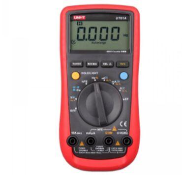 UT61A, Мультиметр цифровой с автоматическим выбором диапазона UT61A, М