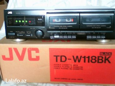 Bakı şəhərində Jvc  td118 продам 2х кассетную деку в