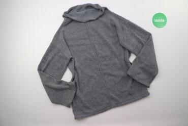 Жіночий светр з коміром, р. M/L    Довжина: 65 см Ширина плечей: 53 см