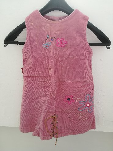 Primanella somotska haljinica - Srbija: Kvalitetna somot haljinica vel 3, obim ispod pazuha 52 cm, dužina 44