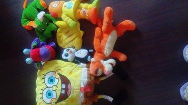 Plišane igračke sve zajedno - Loznica