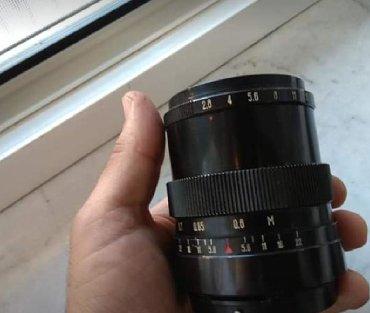 lens - Azərbaycan: Canon Nikon uçun Vega 12 b lens 90mm f 2.8. Portret ucun eladir