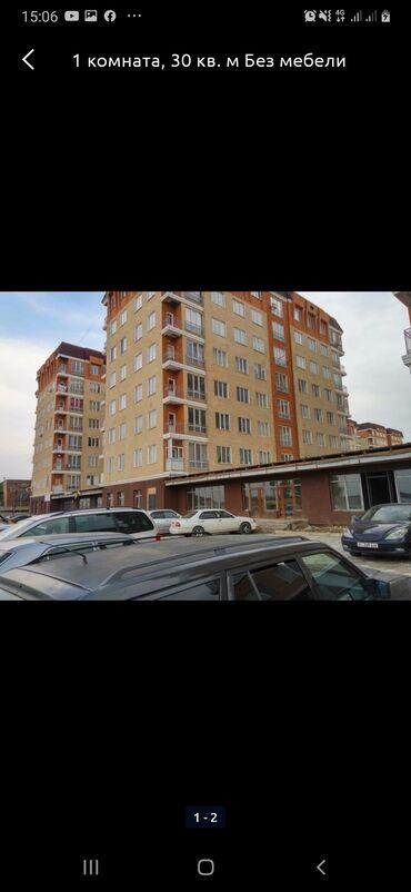 Долгосрочная аренда квартир - 1 комната - Бишкек: 1 комната, 35 кв. м С мебелью, Без мебели