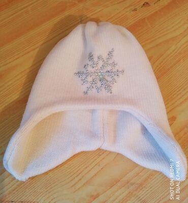 Фирменная шапочка для девочек 1,5- 3 года производство Италия