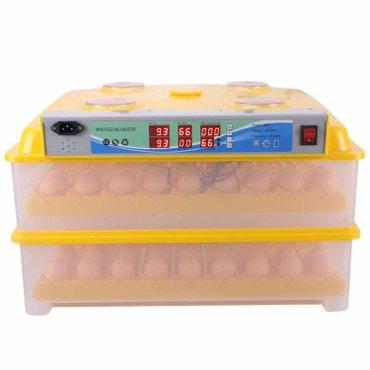 196 yumurtaliq inkubator, zavod istehsalidi, elde duzelme deyil, tam