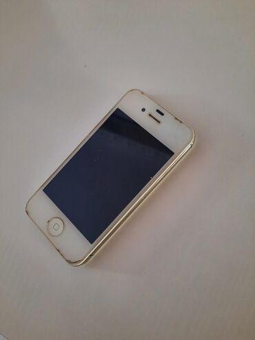 apple 4s - Azərbaycan: В рабочем состояние, есть защитная пленка)