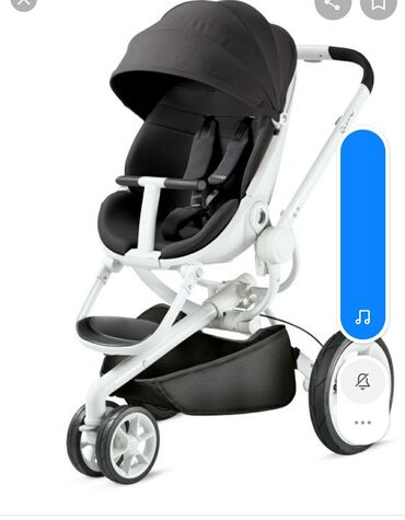 Детский мир - Кемин: Продам коляску Quinny Mood 2 в 1,есть дождевик,насос