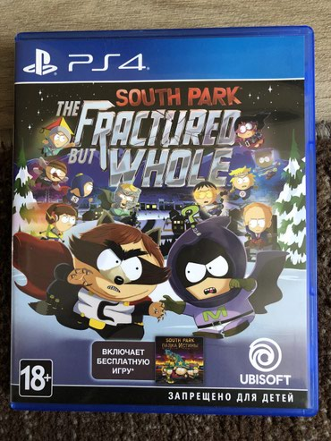 Продаю South Park The Fractured but whole (Ps4). Сост. в Бишкек