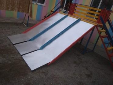 детские-игровые-площадки-для-двора в Кыргызстан: Детские горки! секционные( блочные)горки! горки на заказ. легко