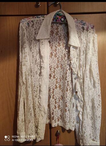 Size medium πουκάμισο δαντέλα