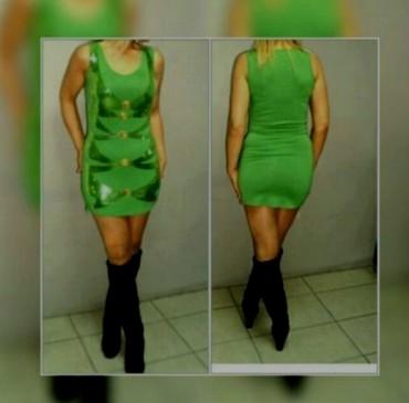 Super haljina snizenje pamuk elastin vel S M sa krljuštima - Batajnica