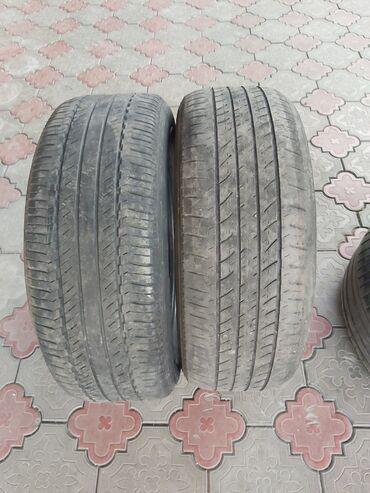 шины бу r16 в Кыргызстан: Продаю шины пара бриджстоун на хайлендер