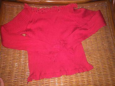 Джинсы - Кыргызстан: Продаю топ и джинсы топ: хорошо подчеркивает плечи, ключицы(идёт как к