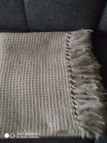 FACOTTI Германия плед с кисточкамиможно построить на диван. или