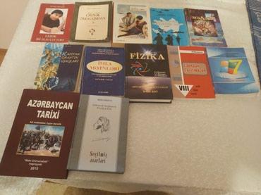 Bakı şəhərində Kitablar satılır