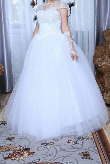 Свадебное платье в идеальном в Бишкек