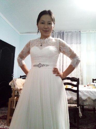купить химчистку торнадо в бишкеке в Ак-Джол: Нежнейшее свадебное платье в английском стиле. Надевали 1 раз