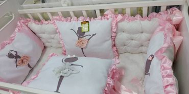 Бортики в кроватку   в Лебединовка