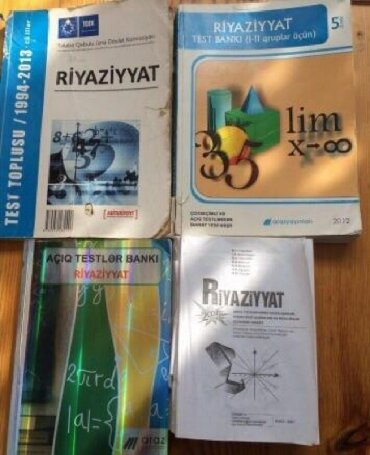 mektebe qeder hazirliq - Azərbaycan: Hazirliq vəsaitləri. Riyaziyyat. Математика