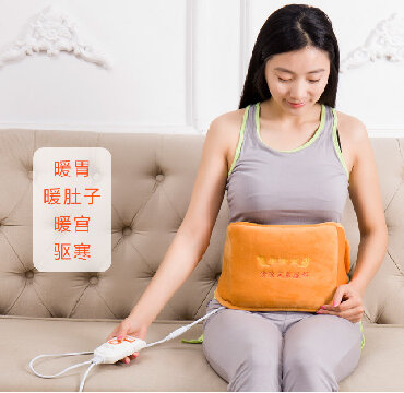 Терапевтический согревающий электрический ПОЯС с лечебными травами и