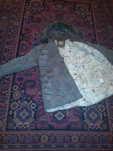 Bakı şəhərində Очень тёплая куртка...в отличном состоянии  цвет светлый кофе