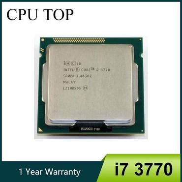 İntel core™ i7 3770_socket 1155  Core LGA 1155 CPU Işlemci  Özellikler