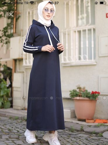 Платье хиджаб свободного кроя шикарного качества в единственном