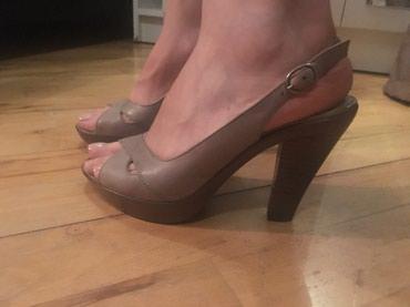 Летние туфли-босоножки на среднем в Bakı