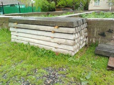 Железо бетонные стойки для в Ош