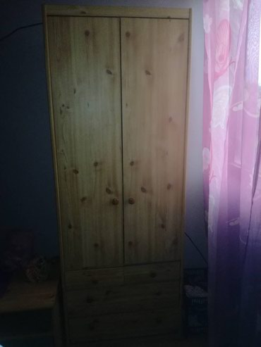 HITNA PRODAJA! Dva drvena teska ormara i polica horizontalna u - Crvenka