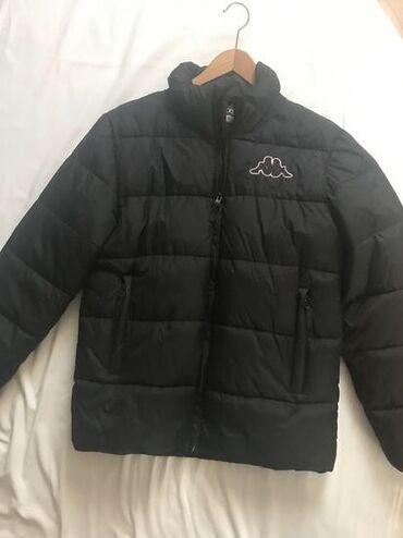 Ski jakne - Srbija: ORIGINAL jakna KAPPA! Zimska, topla, teget boja, duži modelSmall
