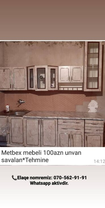 savalan - Azərbaycan: Metbex mebeli 100azn unvan savalan*Tehmine Whatsap aktivdi