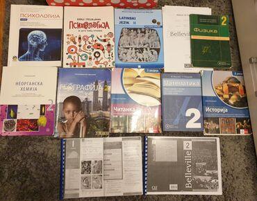 Knjige za 2. razred srednje škole, ja sam koristila za gimnaziju