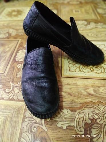 женские туфли кожа в Кыргызстан: Туфли на мальчика 39р. кожа
