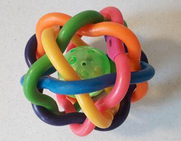 Πολύ όμορφη μπάλα κουδουνίστρα - σε άριστη κατάσταση  Περίμετρος: 40 ε