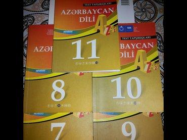 Quba şəhərində Azerbaycan-dili sinif testleri satilir.