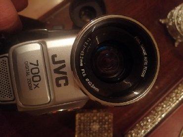 Фото и видеокамеры в Азербайджан: Video kamera JVC. Hər bir weyi var. Yaxwi vəziyyətdədir. Qiymət sondu