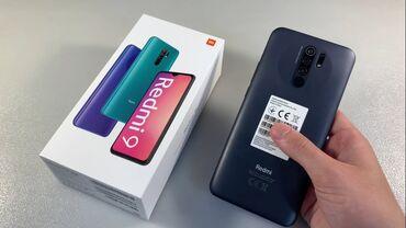 ипотека в бишкеке без первоначального взноса in Кыргызстан   XIAOMI: Xiaomi Redmi 9   64 ГБ   Серый   Сенсорный, Отпечаток пальца, Face ID