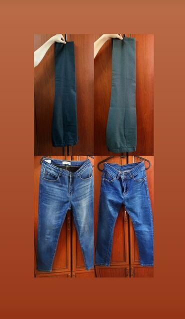 200 сом-Тонкие школьные брюки для мальчика размер 38, рост 152,на