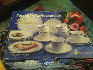 Porcelan set 6 solja 6 tacni i 6 tanjirica zq desert.cena 2500din - Belgrade