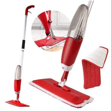 Ostalo za kuću | Kopaonik: Cistac podova sa prskalicom - Healthy Spray Mop - Crveni