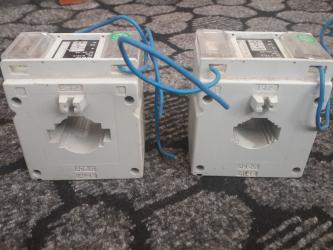 saygac - Azərbaycan: 3 fazlı sayğaclar üçün güc transformatorları.2 ədəd var.Biri 200A,o