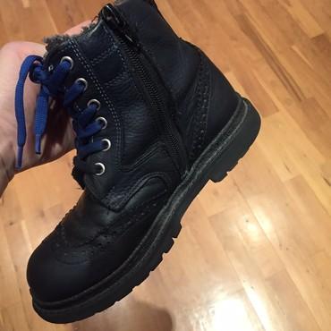 женские ботинки с мехом в Азербайджан: Кожа утепленные 30 размер 10 ман