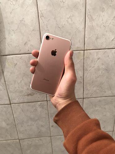 наушники oppo в Кыргызстан: Б/У iPhone 7 32 ГБ Розовое золото (Rose Gold)