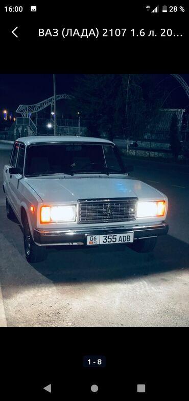 Транспорт - Базар-Коргон: ВАЗ (ЛАДА) 2107 1.6 л. 2002