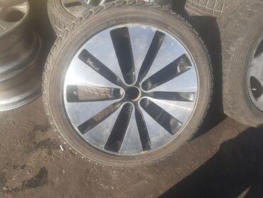 диски на камри 55 в Кыргызстан: Продаю диски р18 без резины диски и резина в идеальном состоянии
